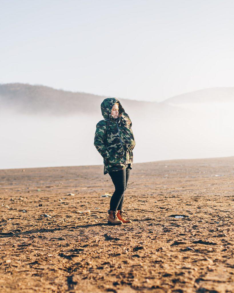 Nosičská bunda - mama blog